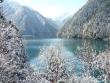 Первый снег в Цзючжайгоу. Е. Н. Шевчук