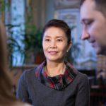 Директор Института Конфуция в СПбГУ с китайской стороны госпожа Хэ Фан