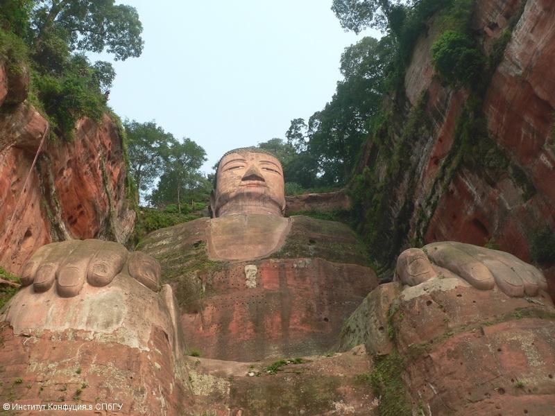 Самый большой Будда в мире (Лэшань). И. А. Орёл