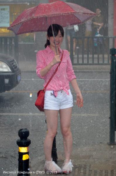 Дождь стилю не помеха. В. Муравьева