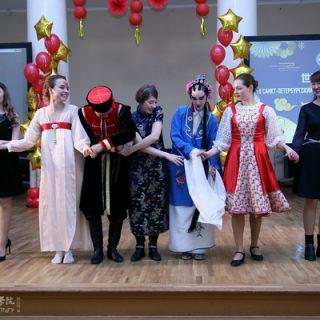 Мост китайского языка в СПб 2019